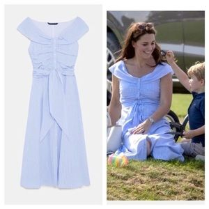 ZARA | 💙 Princess Kate Middleton Sundress (S) NWT